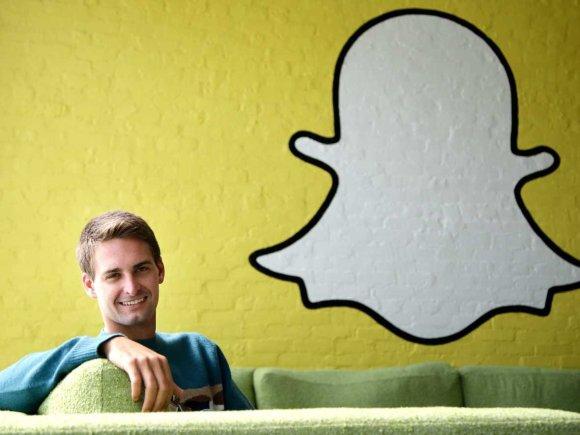 SnapChat CEO Evan Spiegel