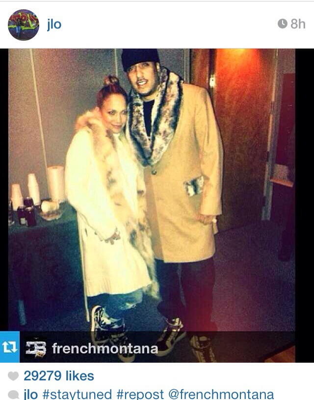 Possible Brand Affiliation: J. Lo & French Montana.